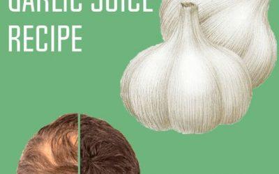Tratament pentru cresterea parului cu usturoi